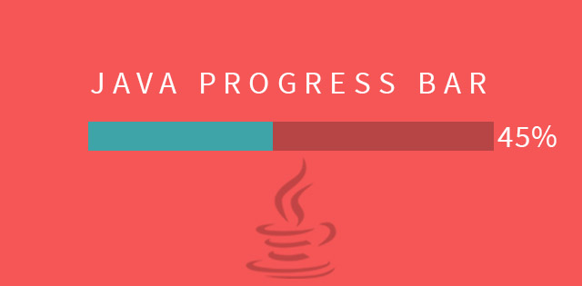 java progress bar
