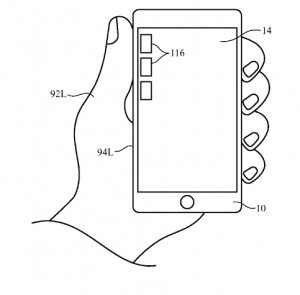 apple one handed sensors