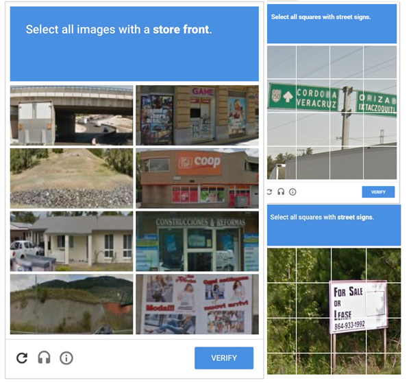 why google recaptcha sucks
