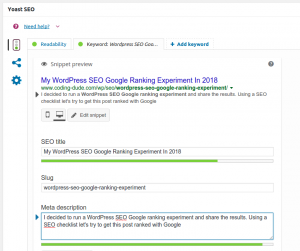serp preview yoast wordpress seo