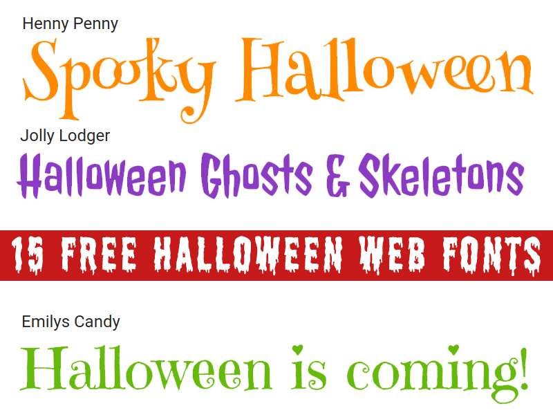 Free Halloween Fonts For Web