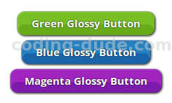 CSS Glossy Buttons Sample